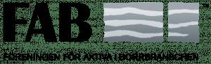 Logotyp för föreningen FAB