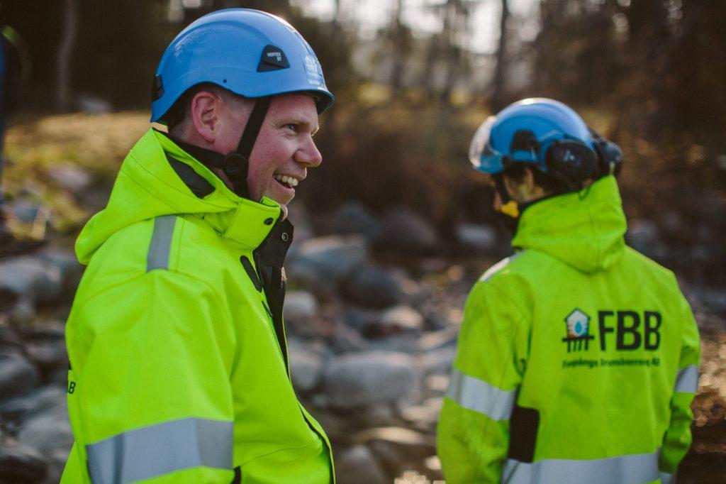 Inspektion inför installation av bergvärme