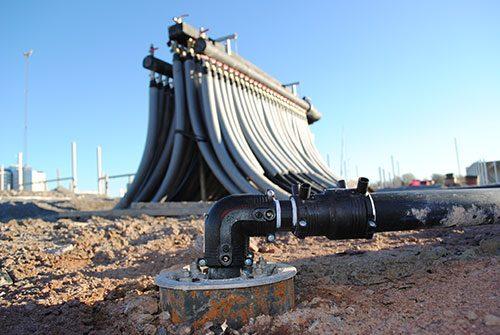 Geoenergi - Sammankopplade rör