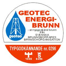 Logotyp för Geotec energi-brunn