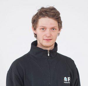 Porträtt av Emil Antonsson, borrare på FBB