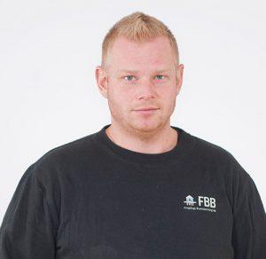 Porträtt av Michael Thern, borrare på FBB