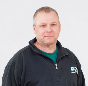 Porträtt av Björn Karlsson, vattentekniker/service på FBB