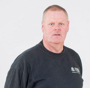 Porträtt av Göran Eriksson, borrare på FBB