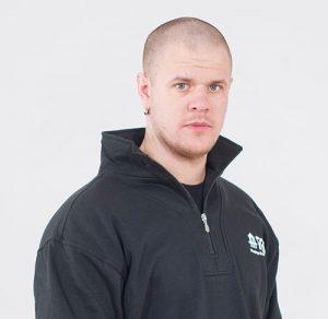 Porträtt av Jens Spångberg, kollektormontör/borrare på FBB