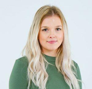 Porträtt av Sofia Lindberg, Projektingenjör på FBB