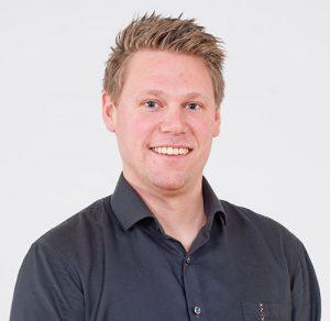 Porträtt av Martin Johansson, Ekonomichef och orderansvarig på FBB