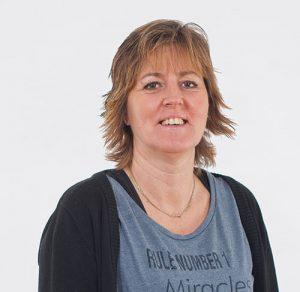 Porträtt av Susanne Brinck, Administration på FBB