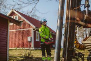 Vattenborrning i Linköping