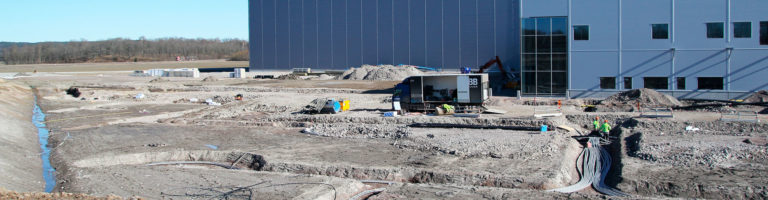 Rustas centrallager - Östergötlands största geoenergisystem