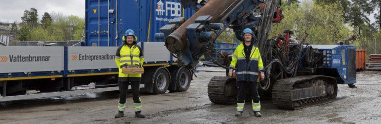 Utökning av vattenkapacitet i Vingåker