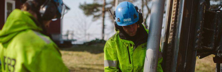 Hur fungerar bergvärme? FBB Finspångs Brunnsborrning förklarar.